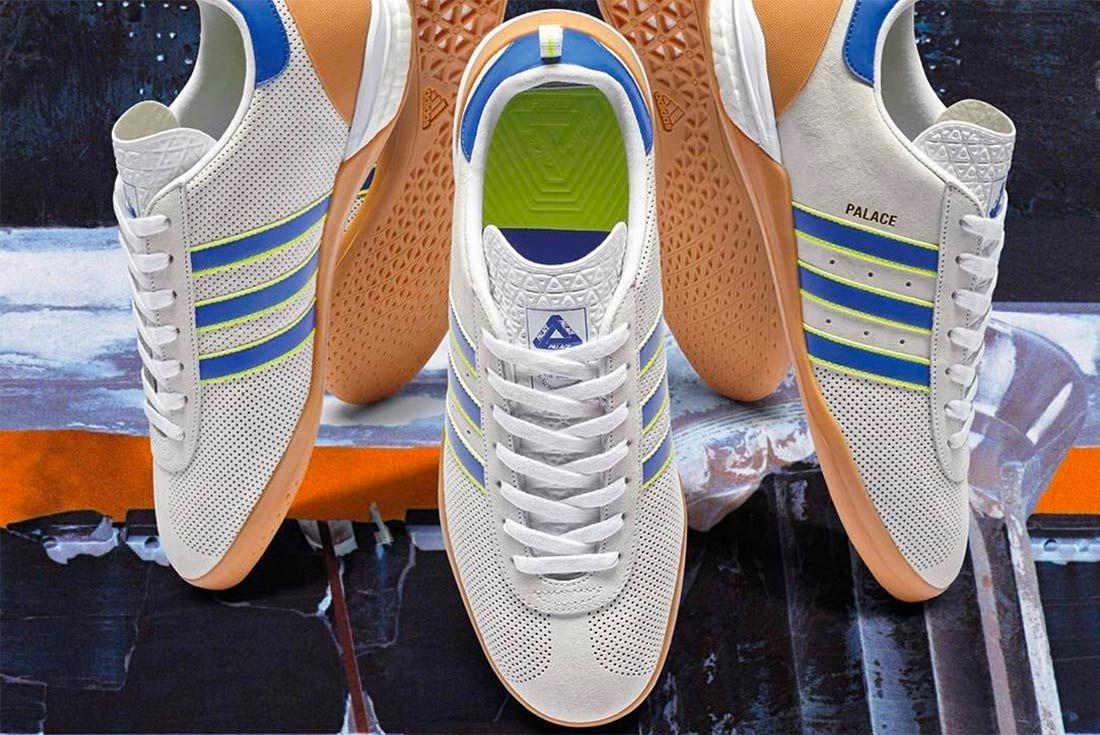 Palace X Adidas Indoor 1