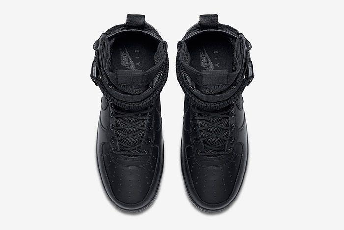 Nike Sf Air Force 1 Black Friday Triple 3
