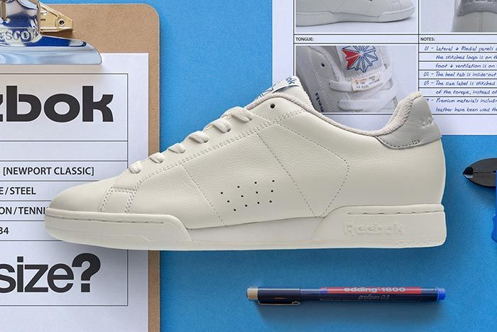 Size Reebok Npc Ii Left Side