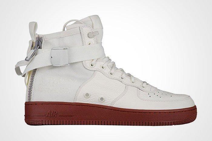 Nike Sf Air Force 1 White Red Thumb