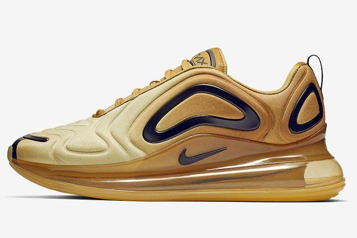 Nike Air Max 720 Desert Gold Left