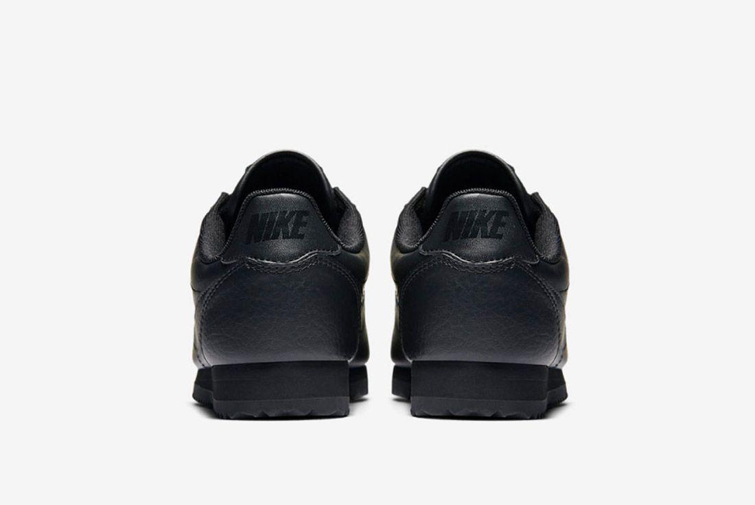 Nike Cortez Premium Womens Beautiful Powerful Black 1