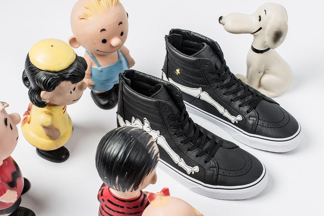 Blends X Peanuts X Vans Sk8 Hi Reissue Zip5