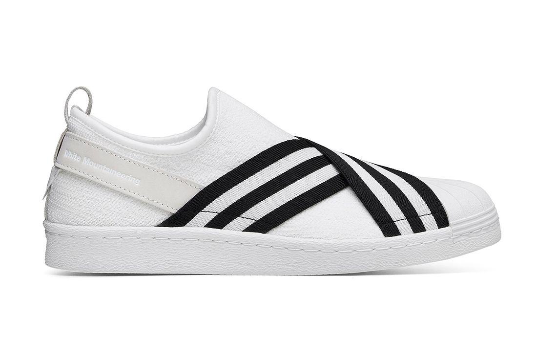 White Mountaineering X Adidas Superstar Slip On 5