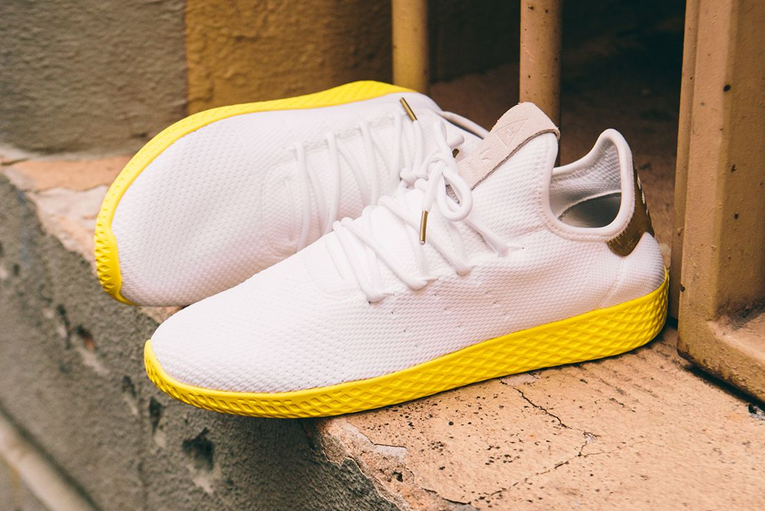 Pharrell Williams X Adidas Tennis Hu Gold16