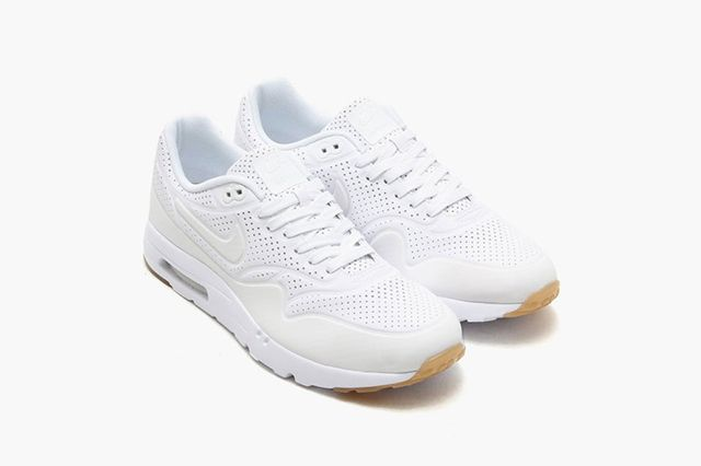 Nike Air Max 1 Ultra Moire White White 1