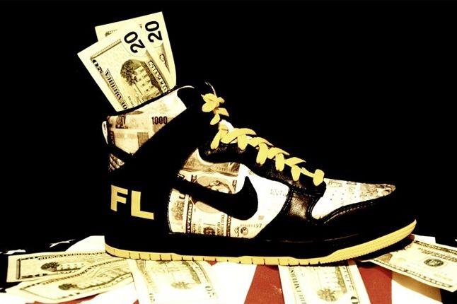 Nike Dunk Flom Futura 1