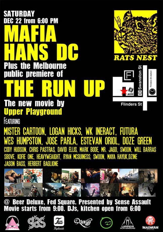 The Run Up Melbourne Launch 1