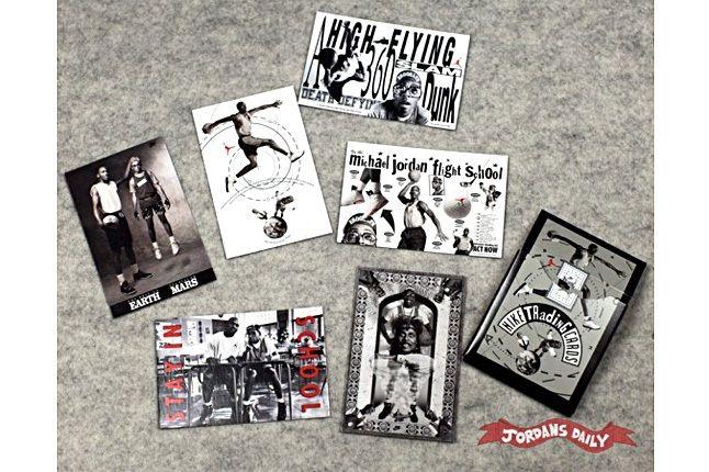 Vintage Nike Mars Blackmon Michael Jordan Trading Cards 14 1