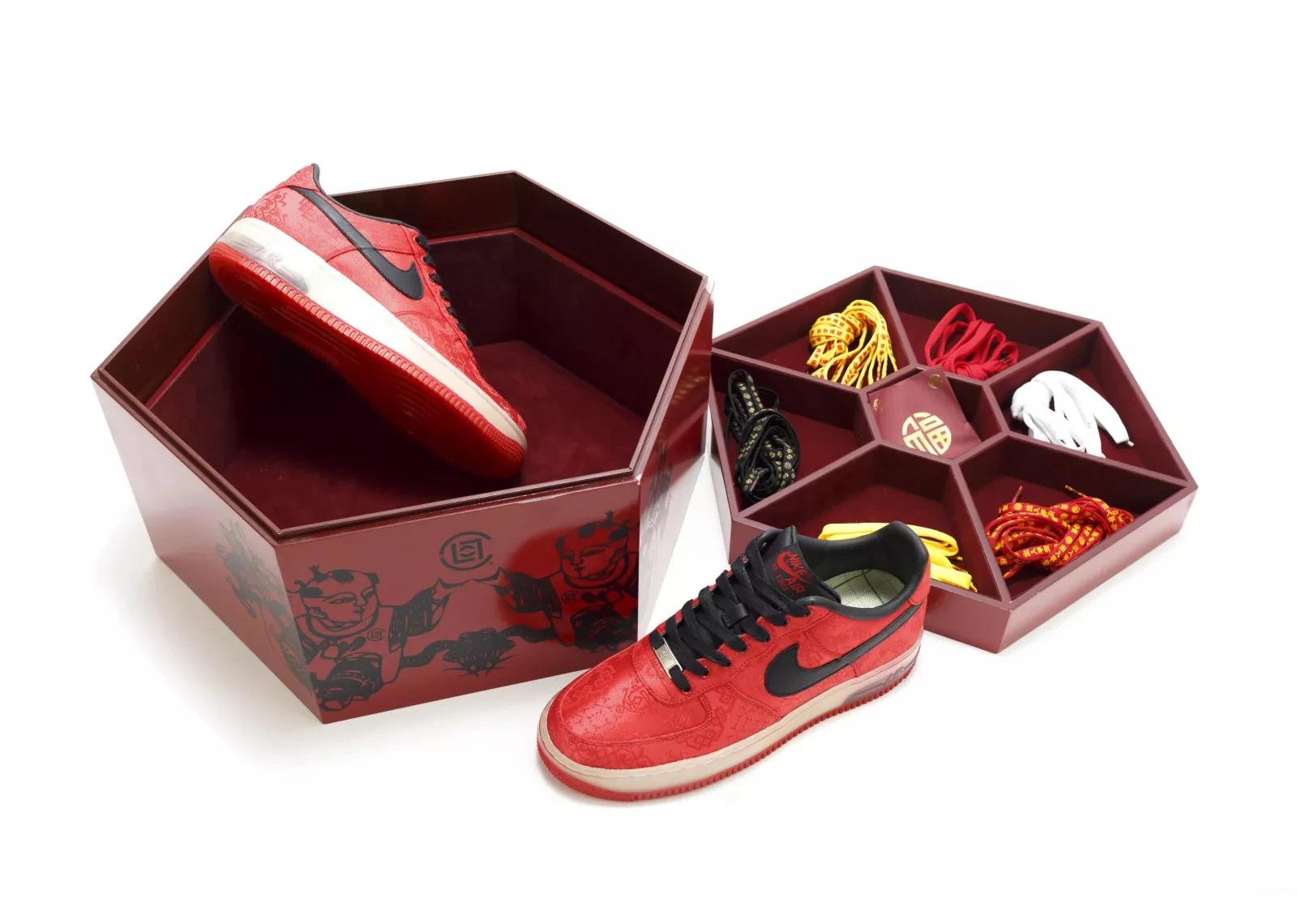 CLOT x Nike '1WORLD' Air Force 1 special box