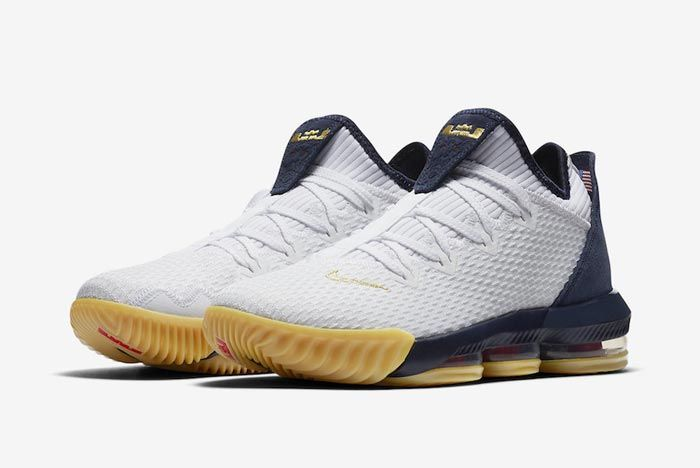 Nike Lebron 16 Low Olympic Pair
