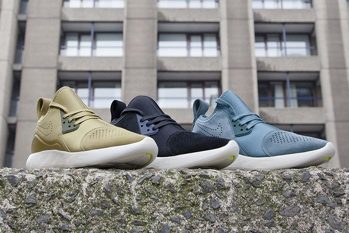 Nike Lunarcharge Suede Pack 1