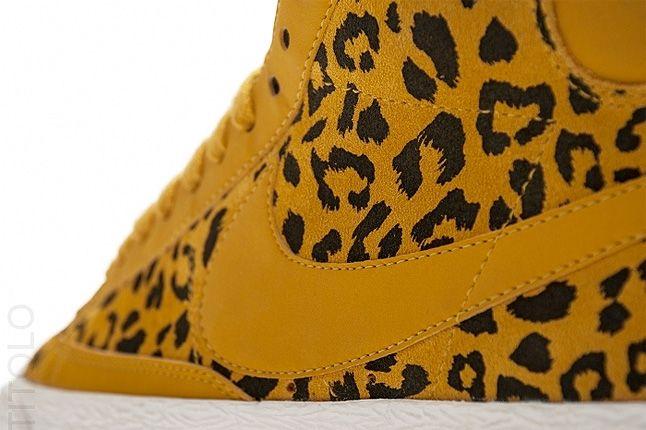 Nike Blazer Wmns Leopard Close Up 2 1