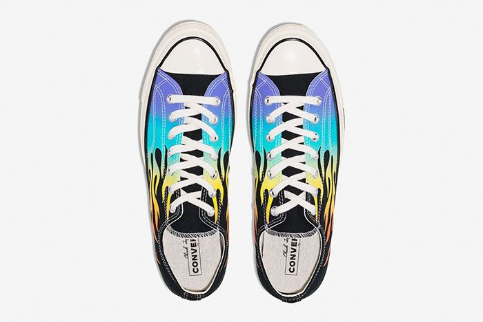 Converse Chuck 70 Low Archive Print Flame Top
