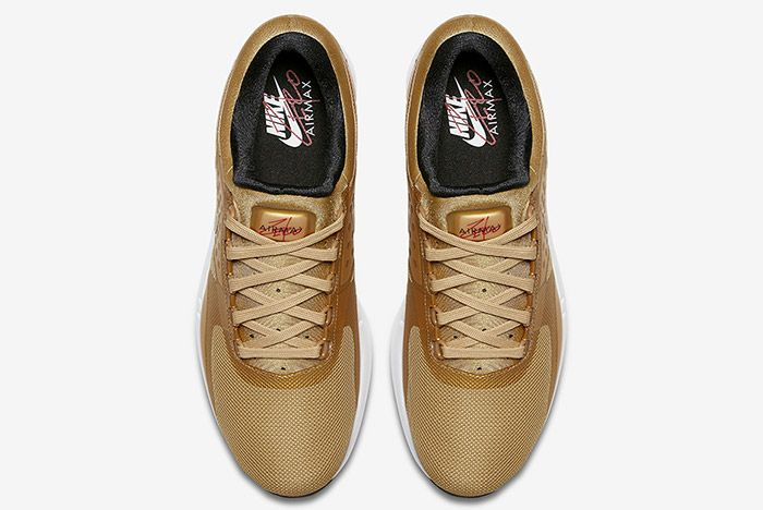 Nike Air Max Zero Metallic Gold 3