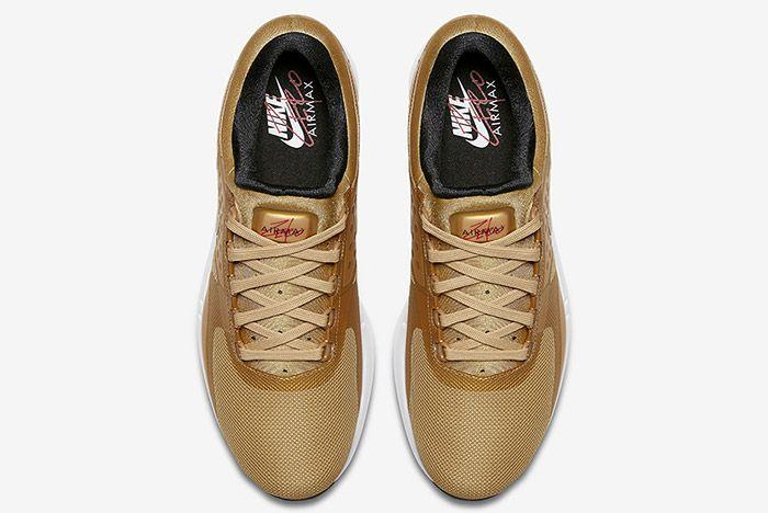 Nike Air Max Zero Metallic Gold 3