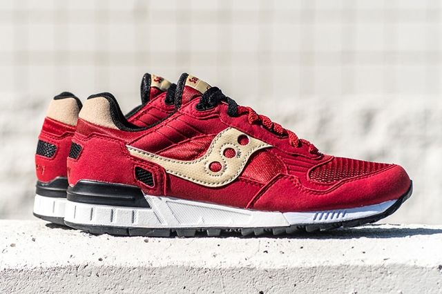Saucony Originals Shadow 5000 Red Cream 5