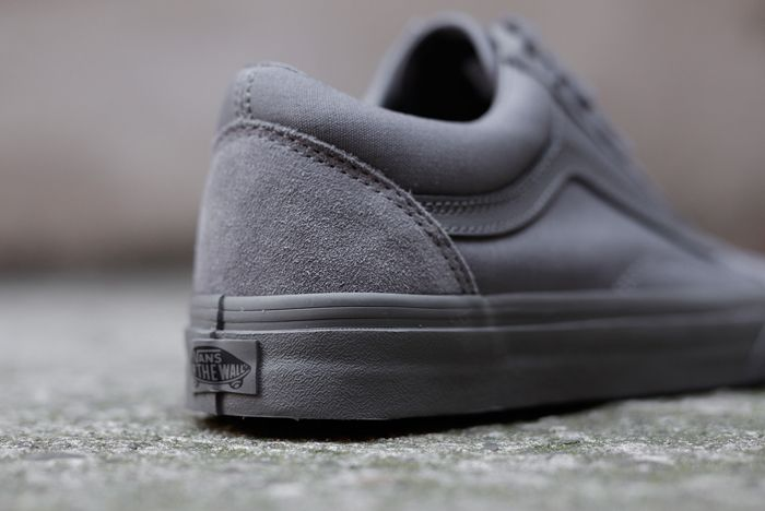 Vans Old Skool Mono Tornado Grey4