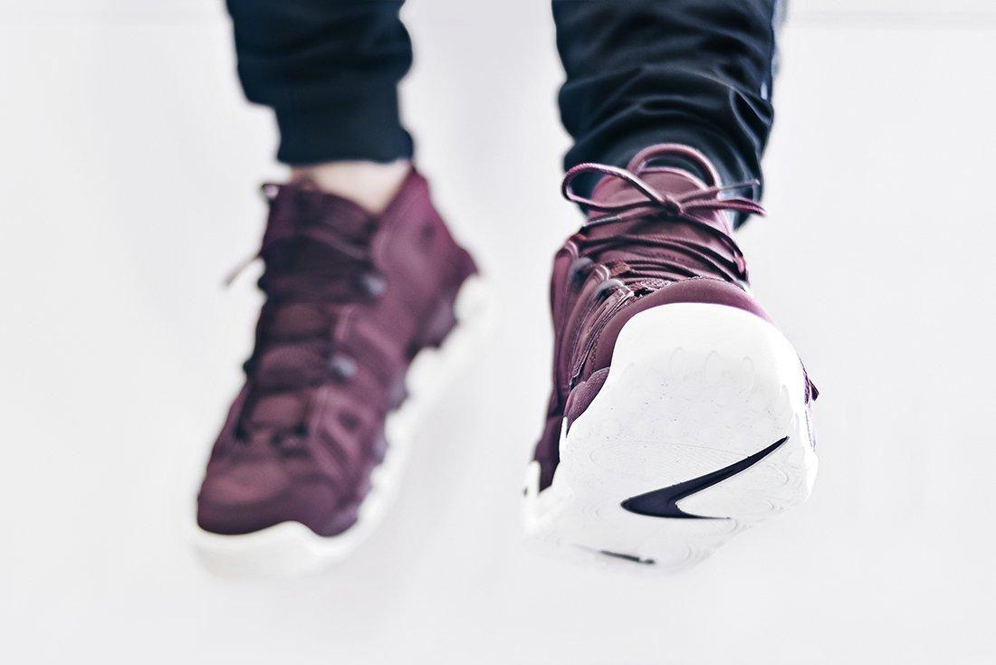 Nike Air More Uptempo Bordeaux5