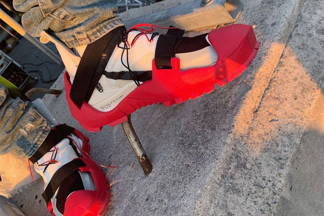 Mmw Alyx Vibram Nike Sole Pride Tailwind 79 Lil Uzi On Foot Shot