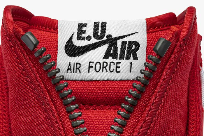 Emotionally Unavailable Nike Air Force Front
