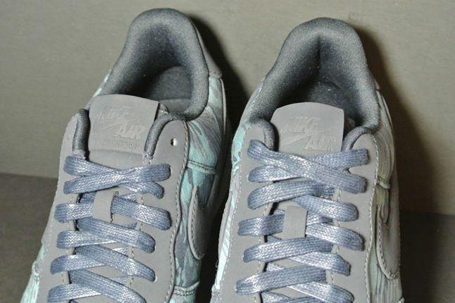 Nike Af1 Downtown Turqcamo Tongue Detail 1