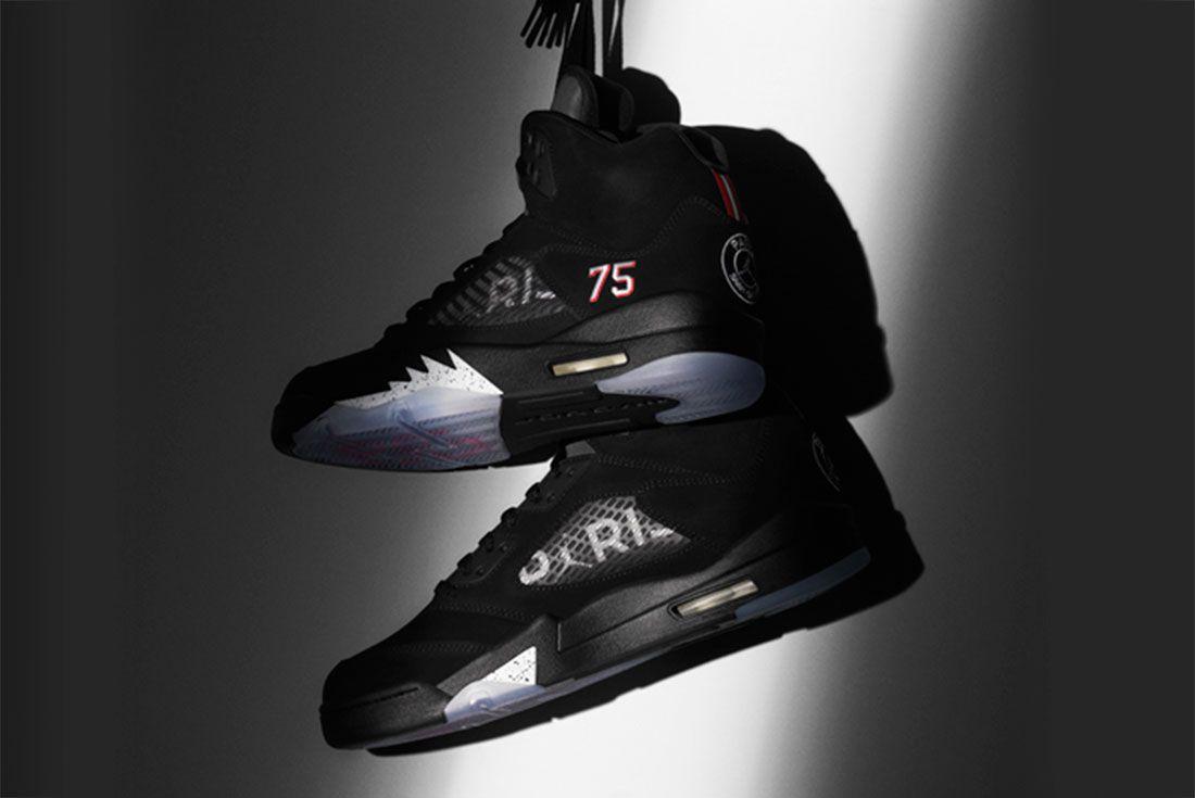 Jordan Brand Link Up With Psg For Air Jordan V