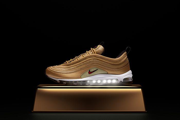 Nike Air Max 97 Gold Metallic