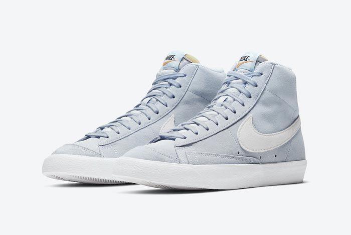 Nike Blazer Mid 77 Hydrogen Blue Pair