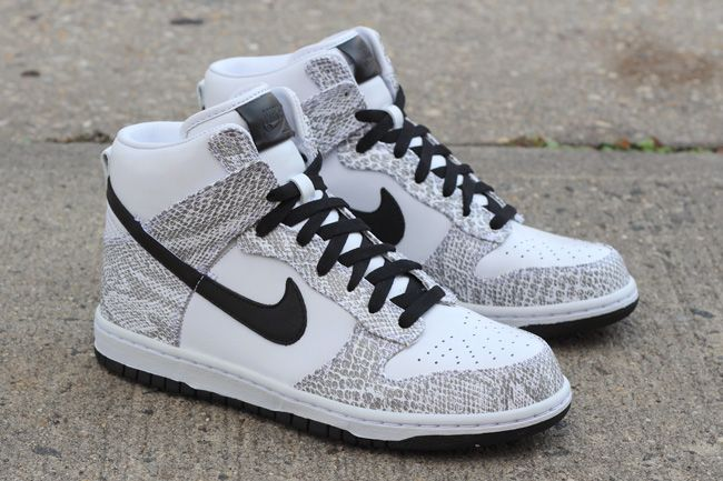 Nike Dunk High Sp Cocoa Snake Pack White