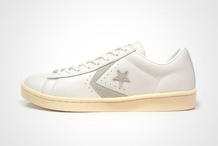 Converse Pro Leather Low 76 Ox Limited Edition White Tan Thumb
