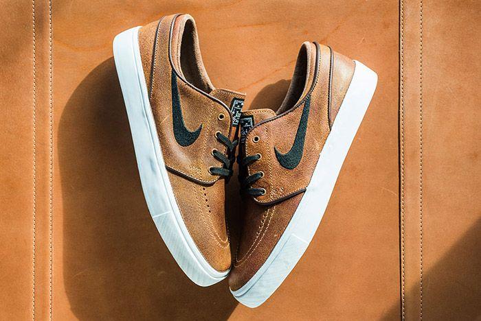 Nike Sb Stefan Janoski Ale Brown Leather 4