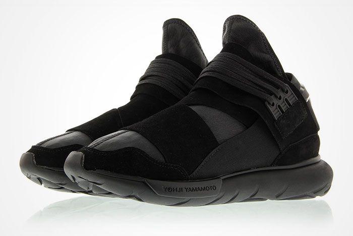 Adidas Y 3 Qasa High Triple Black Feature