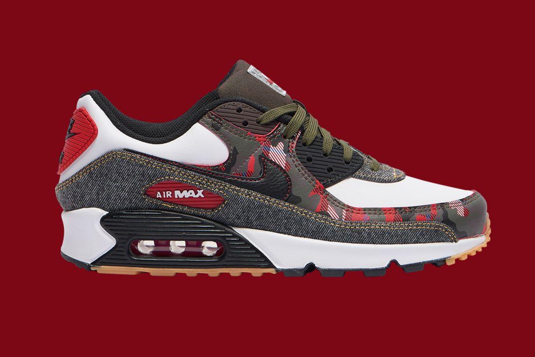 Nike Air Max 90 Denim Camo Right
