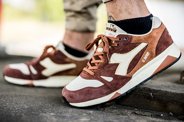 Diadora S8000 S Ita Made In Italy Brown