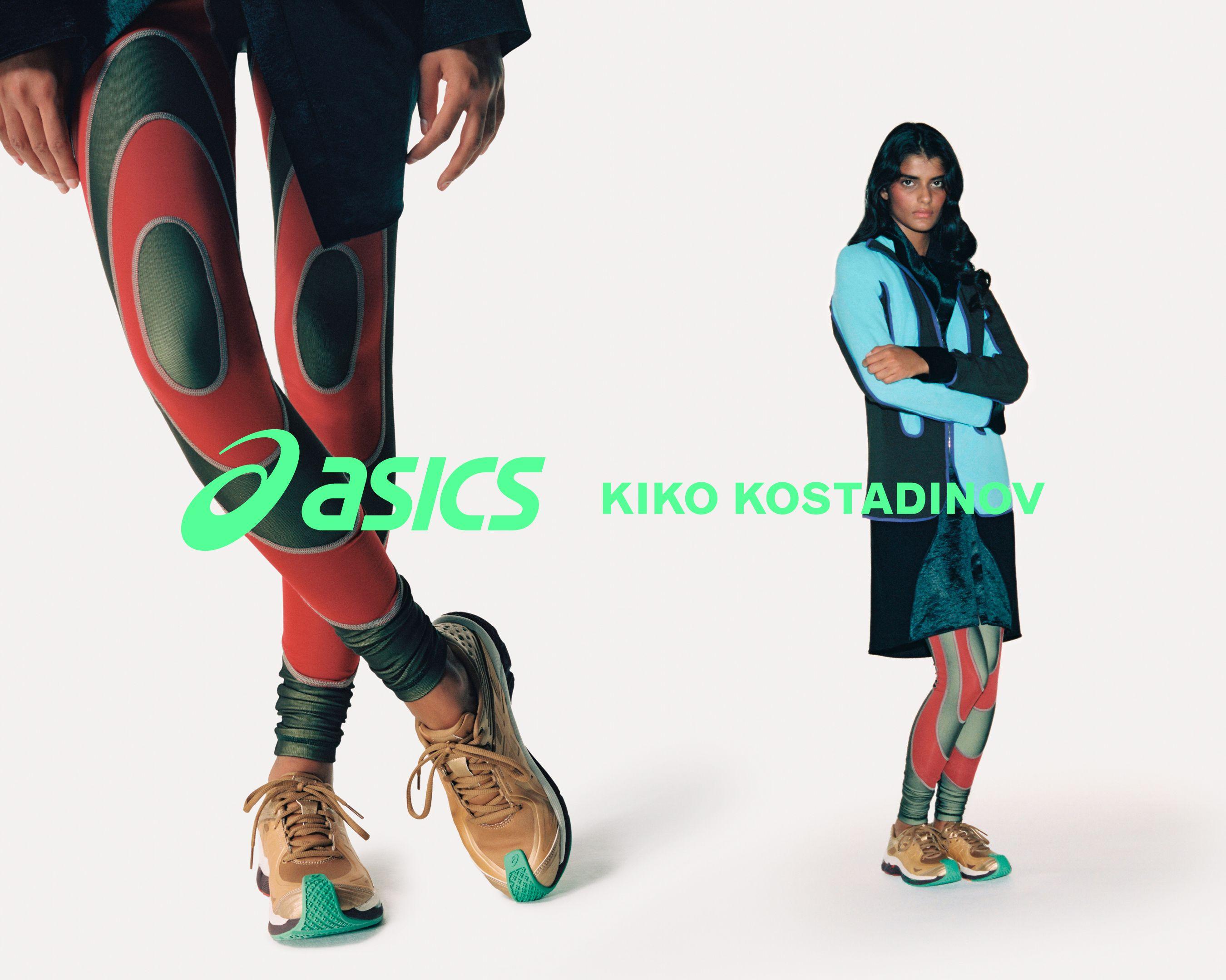 Kiko Kostadinov x ASICS GEL-TESERAKT