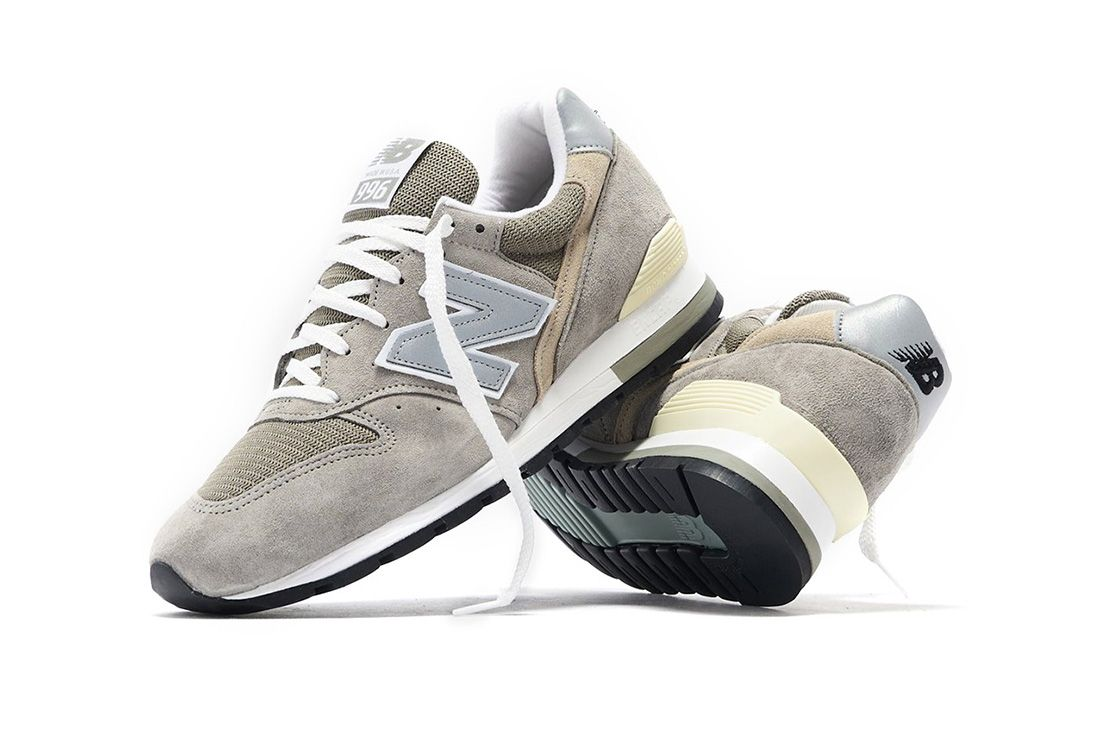 New Balance 996 Grey Stacked