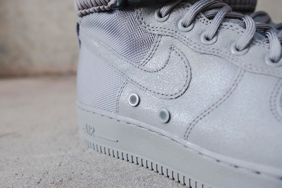 Nike Sf Air Force 1 Grey 11