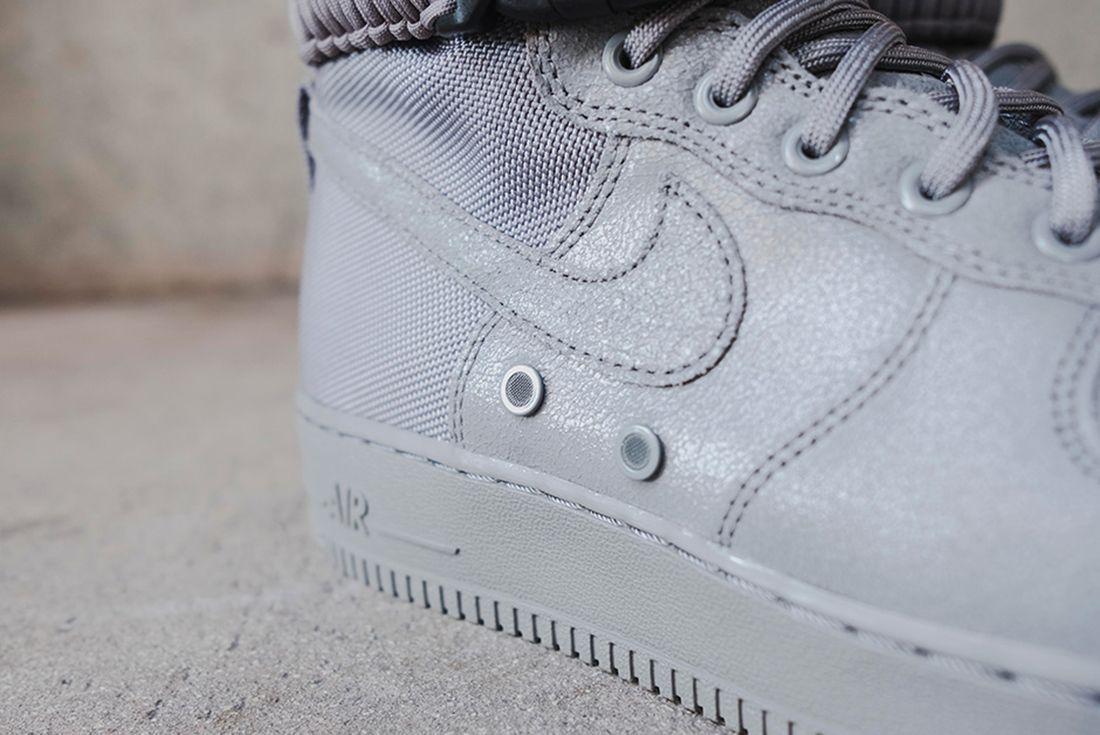 Nike Sf Air Force 1 Grey 11