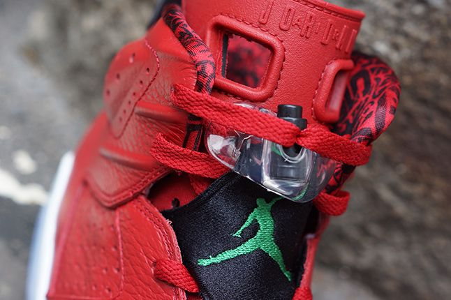 Air Jordan 6 Varsity Red 3