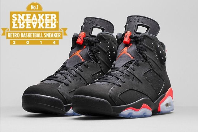 Air Jordan 6 Black Infrared Official Images