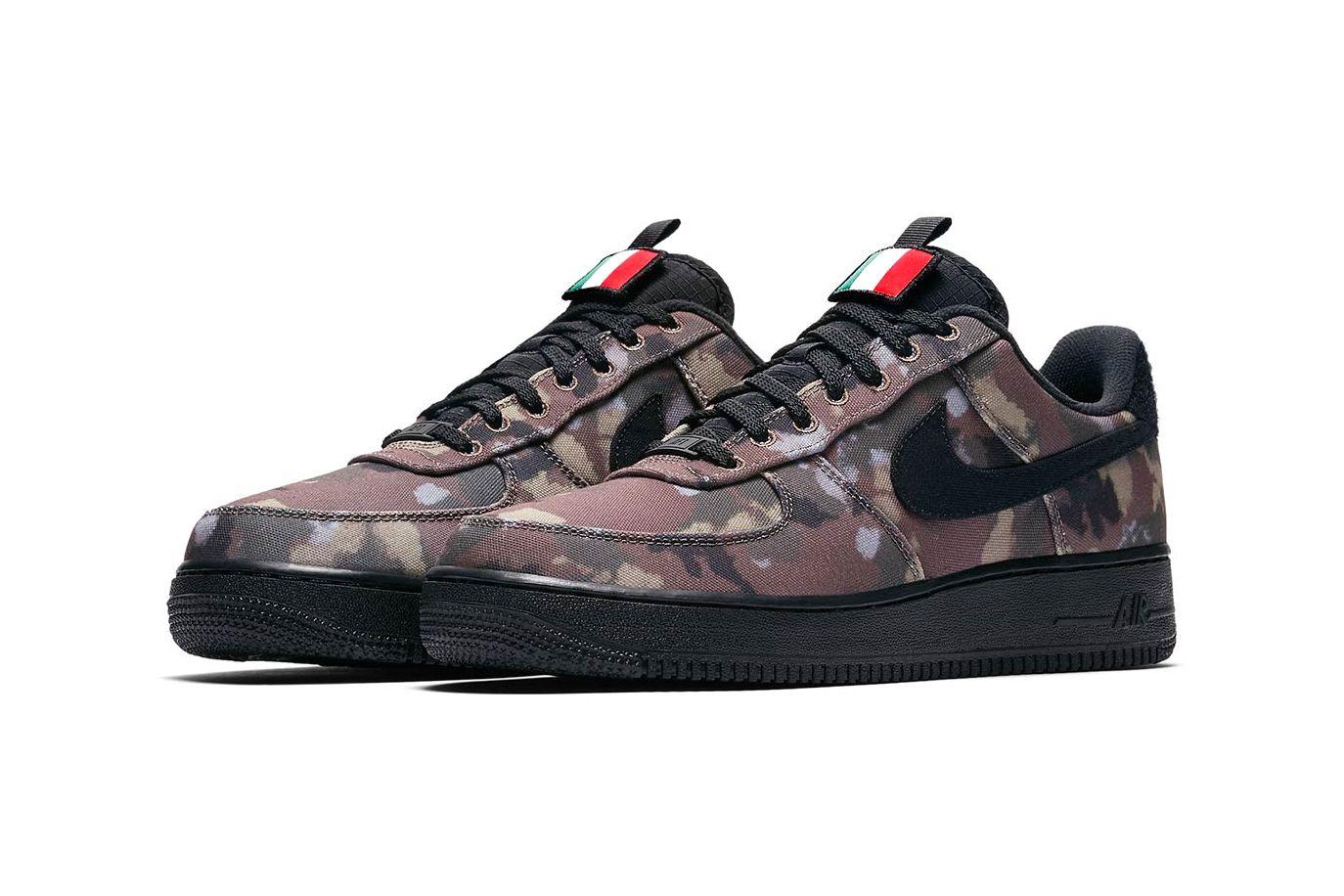 Nike Air Force 1 Italian Camo Angled