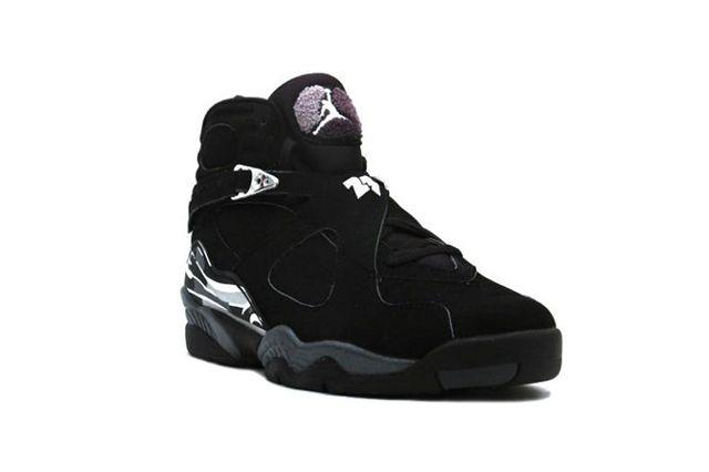 Air Jordan 8 Chrome Black 4