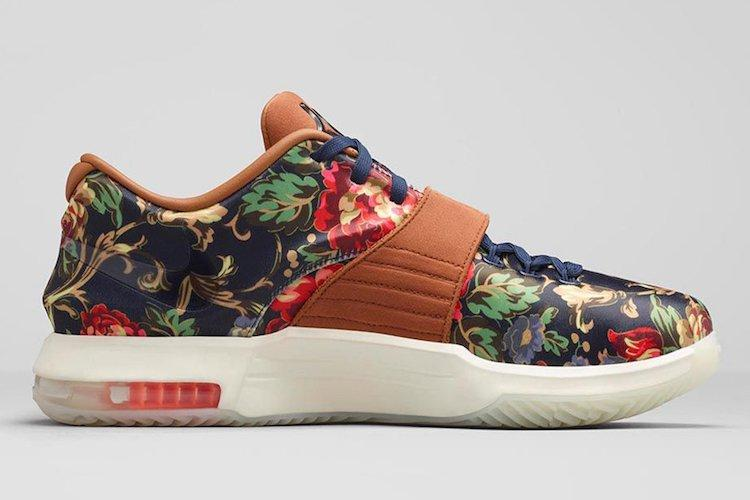 Nike Kd 7 Ext Floral Official Images 3