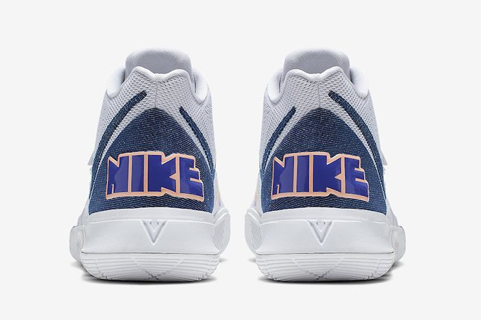 Nike Kyrie 5 Have A Nike Day Ao2919 101 Release Date Heel
