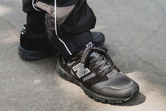 New Balance Made In Uk Season 2 Mtl575 Blackout On Foot