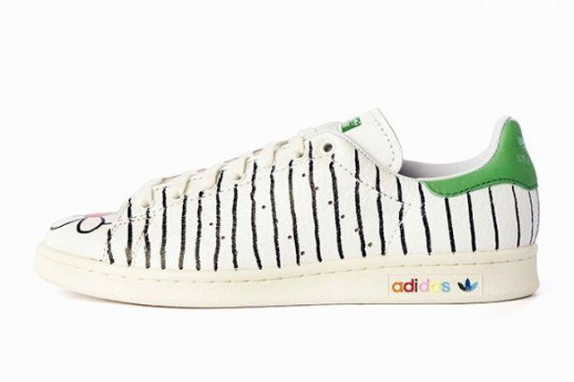 Pharrell Williams Hand Painted Adidas Originals Stan Smith 18