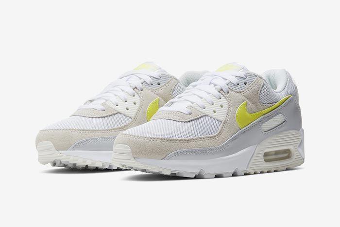 Nike Air Max 90 Wmns Lemon Venom Pair