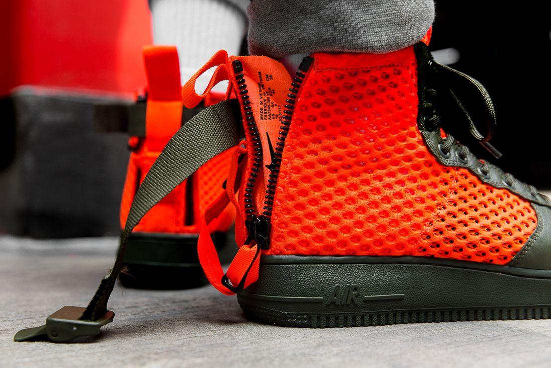Nike Sf Air Force 1 Total Crimson 2
