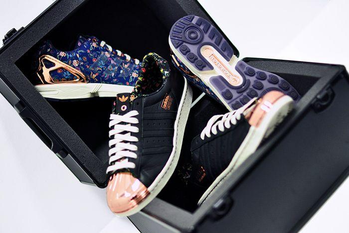 Limited Edt X Adidas Consortium Superstar 80 V Zx Flux10